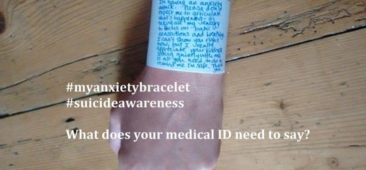 #myanxietybracelet