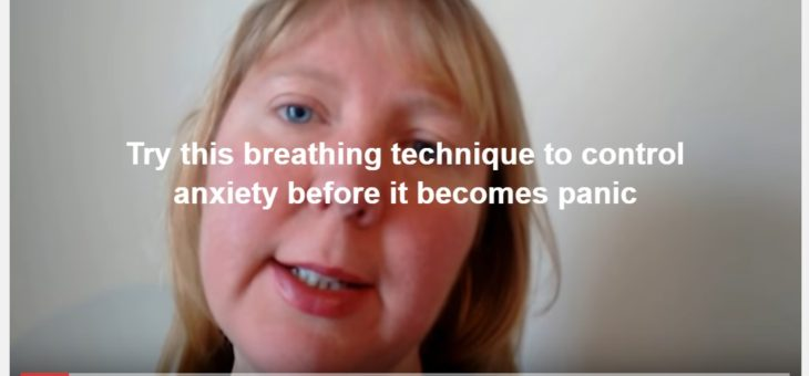 Breathing technique for anxiety